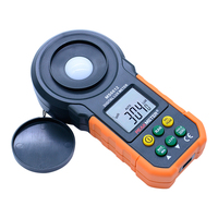 Digital Light Meter Lux meter 0~200,000lux cheap light illuminance lux meter for LED PM6612