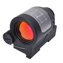 1X36 Tactical Compact Impermeabile Solar Red Dot <span class=keywords><strong>Scope</strong></span> Sealed Reflex Sight Tattico della Pistola del Fucile Portata Pistola Per La Caccia