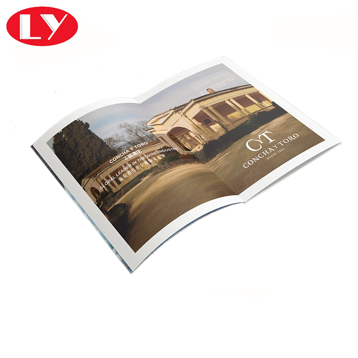 Full color luxury brochure leaflet printing