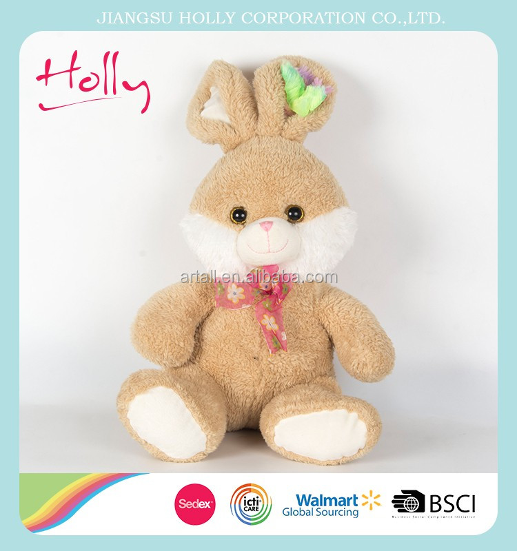 Holly quality wholesale custom rabbit <strong>plush</strong>