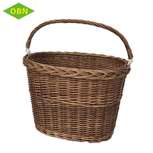 Umweltfreundliche <span class=keywords><strong>OEM</strong></span> nach wicker behindern abnehmbare fahrrad korb