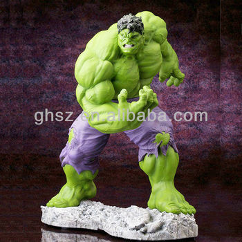 Wholesale Good Quality Famous Cartoon Image Plastic Hulk Toy Model ...