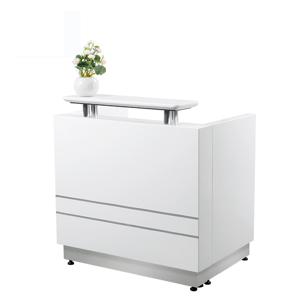 beauty salon used counter reception R007