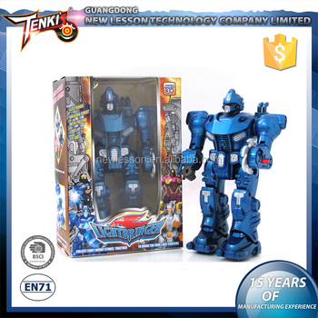 Interesting electronic strong stone man robot for kids with high quality