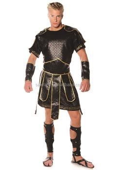 Mens Roman Gladiator Spartan Soldier Warrior Greek Trojan Hercules God Costume QAMC-2555  sc 1 st  Alibaba & Mens Roman Gladiator Spartan Soldier Warrior Greek Trojan Hercules ...