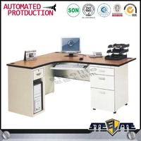 used office furniture modern metal material wooden color desk