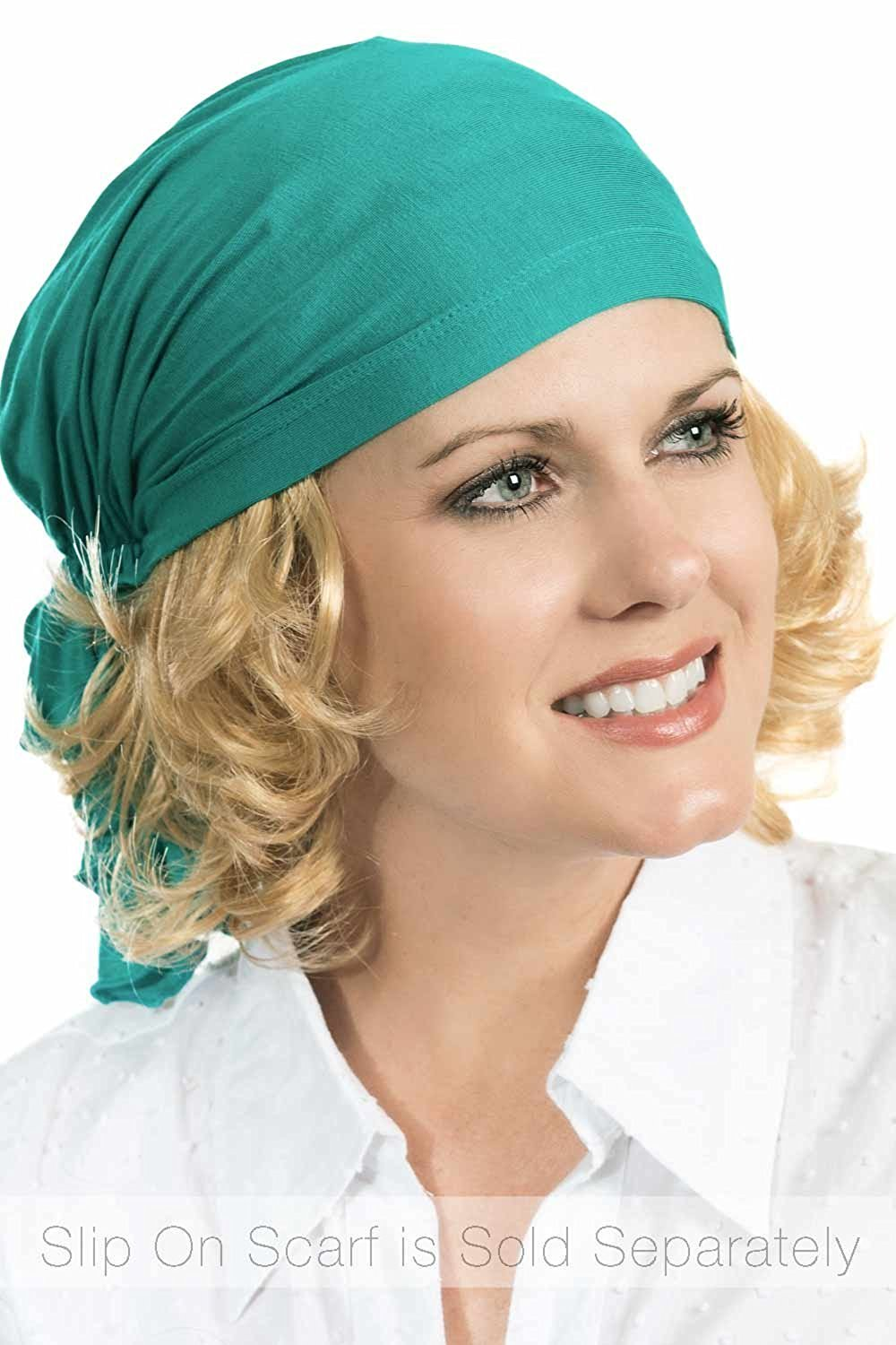 292996a19f2aa Get Quotations · Cardani Curly Hair Halo - Hairpiece for Hats I Hats with  Hair I Cancer Patients