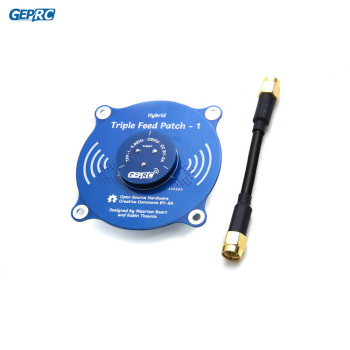 FPV antenna 5.8ghz Panel Pagoda Pro 9.4 dBi with Gain TX RX RP-SMA Female and SMA Male for RC drone