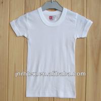 cotton cheap white t shirts in bulk