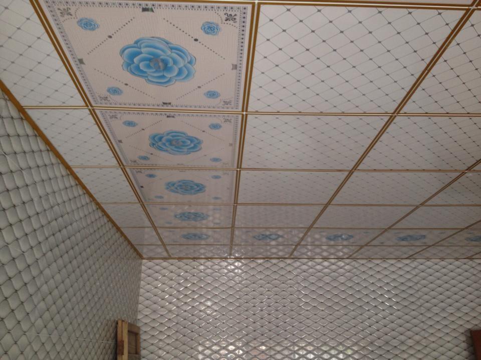 Interior Decoration Pop False Ceiling Tiles 3d Printed Ceiling Film For  Bedroom - Buy 3d Ceiling Tile,Pop False Ceiling Tiles,Pvc Film For Stretch  ...