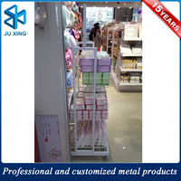 Metal Retail Shop Floor Display Rack, Display Stand For Candy Dry Food, metal stand for shops