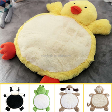 Direct Manufacturer Plush Baby Animal Sleeping Mat For Birthday Gift