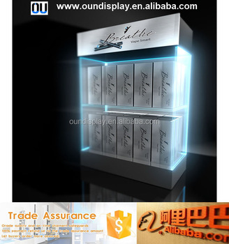 30 Ml E Saftflaschen Display Steht Benutzerdefinierte Acryl Led