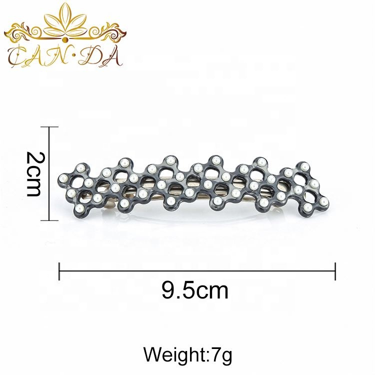 Fashion Hair Claws Imitation Pearl Lady Headwear Accessories For Women Hairpins Plastic Elastic Barrette Hot As Effectively As A Fairy Does Girl's Accessories