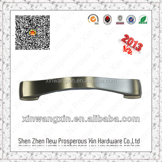 Wholesale of custom furniture hardware aluminium door handle