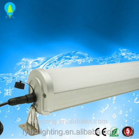 Water proof linear fixture 4ft 1200mm 40W Tri Proof T8 Led Light Tube ip65 triproof led tube