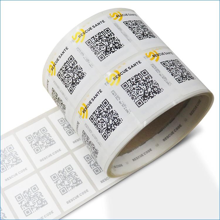 Barcode Sticker/hs Code For Labels/qr Code Sticker