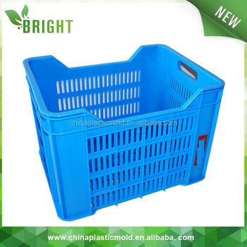 Außergewöhnlich 30l Kunststoff-gemüse- Und Obstbox Für Transportkiste Mit Loch #IL_18