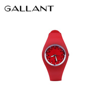 2018 hot Japan quartz movt silicone band watch