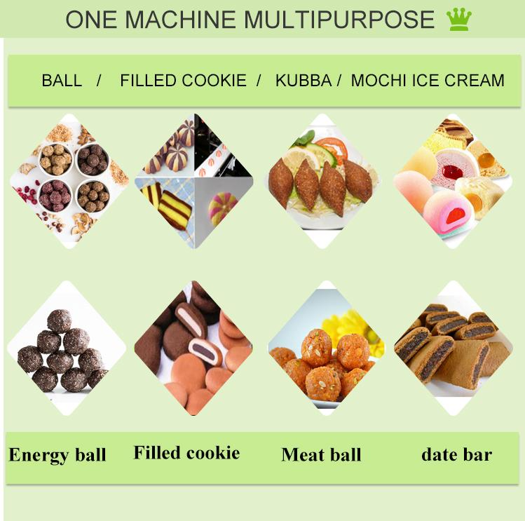Petites entreprises mini chocolat crème biscuits fourrés équipement date mamol machine avec estampillage dispositif