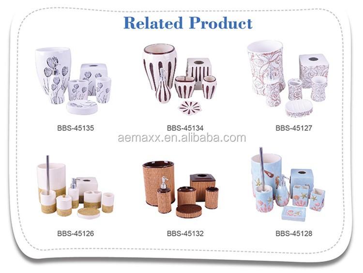De moda barato ba o en relieve de chapado en plata de cer mica de lujo accesorios de ba o buy - Accesorios de bano baratos ...