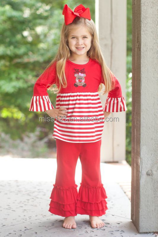 Adorable Cute Christmas Baby Girls Boutique Outfit Easter Girls ...