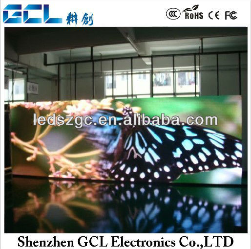 high definition led p4.46 epaper display screen