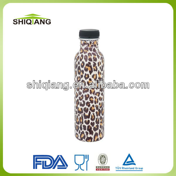 750ml wide mouth stainless steel outdoor travelling sports drink water bottles in various colors and capacities