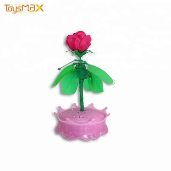 Wedding Decorations Fashion Flight toy with flower for Girl