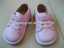 2013 Lovely baby squeaky shoes, pink tennis squeaky shoes, Baby maryjanes squeaky shoes