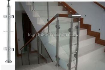 Glasvezel glas trappen balustrade met trendy design buy glazen