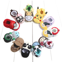 Hot selling funny cute cartoon design baby shoes