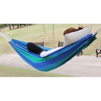 chaud vente coton toile bande extrieur parachute voyage camping hamac air swing lit - Hamac Exterieur