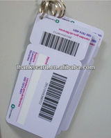 Plastic Key Tags and Cards Key Tag Combos