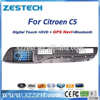 car dvd gps navigation system for citroen c5 with bluetooth mp3 fm radio buy for citroen c5. Black Bedroom Furniture Sets. Home Design Ideas