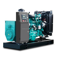 Cheap land use power plant with Cummins engine or PERKlNS 24kw electrical generator 30kva diesel genset