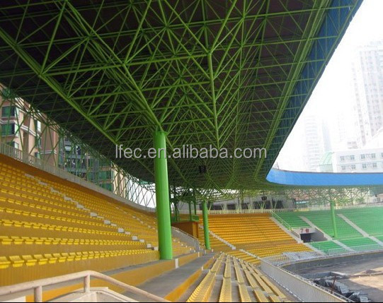 Steel structure stadium bleachers