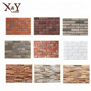 Cheap brick veneer white stone brick