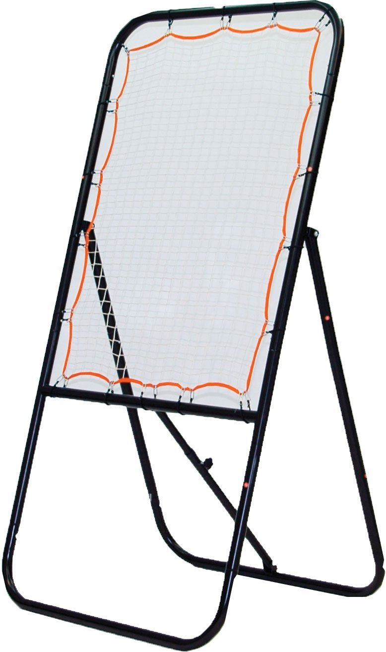 Champion Sports Lacrosse Bounce Target: Ball Return Net for Professional, College and Grade School Training, Practice and Drills - Improves Offense, Passing, and Shooting Accuracy Skill Set
