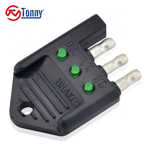 4 Wire Led Trailer Wiring Harness Pigtail Tester Flat Way Connector How To Check Trailer Wiring Harness on trailer mounting brackets, trailer brakes, trailer hitch harness, trailer plugs, trailer fuses, trailer generator,