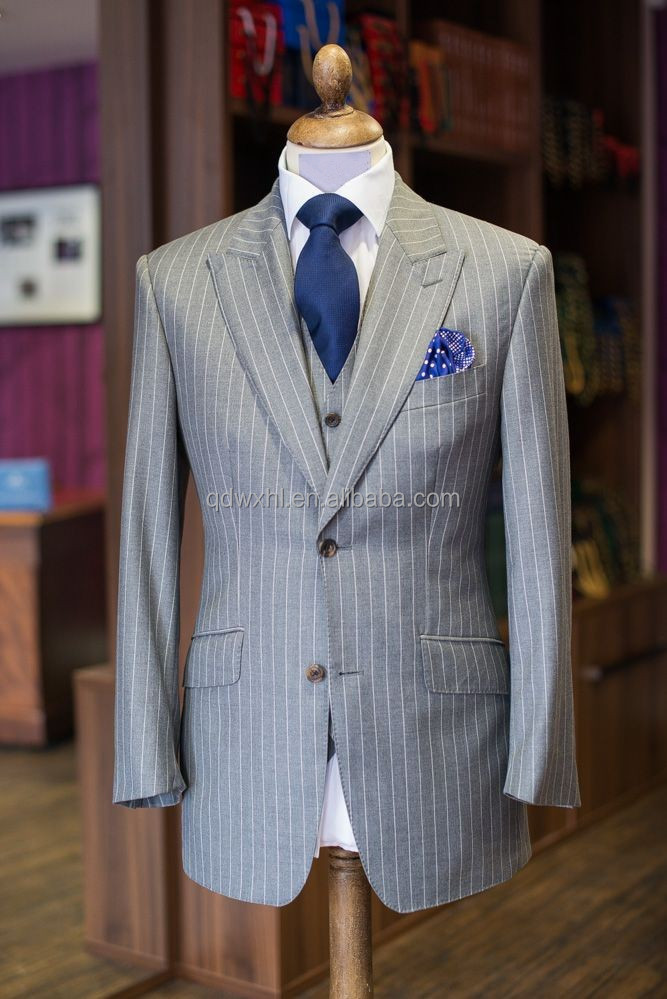Wedding Suits Pictures Blue Men's Blazer Tailored Male Tuxedo ...