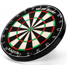 Professional Dartboard With Deluxe Wooden Cabinet Darts