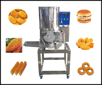 stainless steel efficient automatic burger maker machine