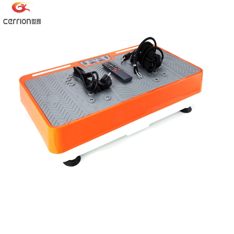 200w small vibration plate / Simple Control Whole Body fitness Platform with Resistance Bands