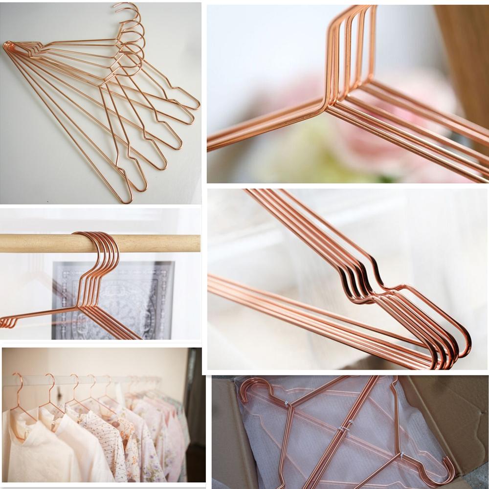 Praktische schwere metall draht kupfer kleiderbügel-Kleiderbügel ...