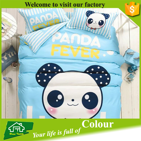 100% Microfiber reactive crib bedding set baby bedding set