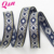 High quality wholesale 3/8 inch jacquard ribbon for lady's clothing
