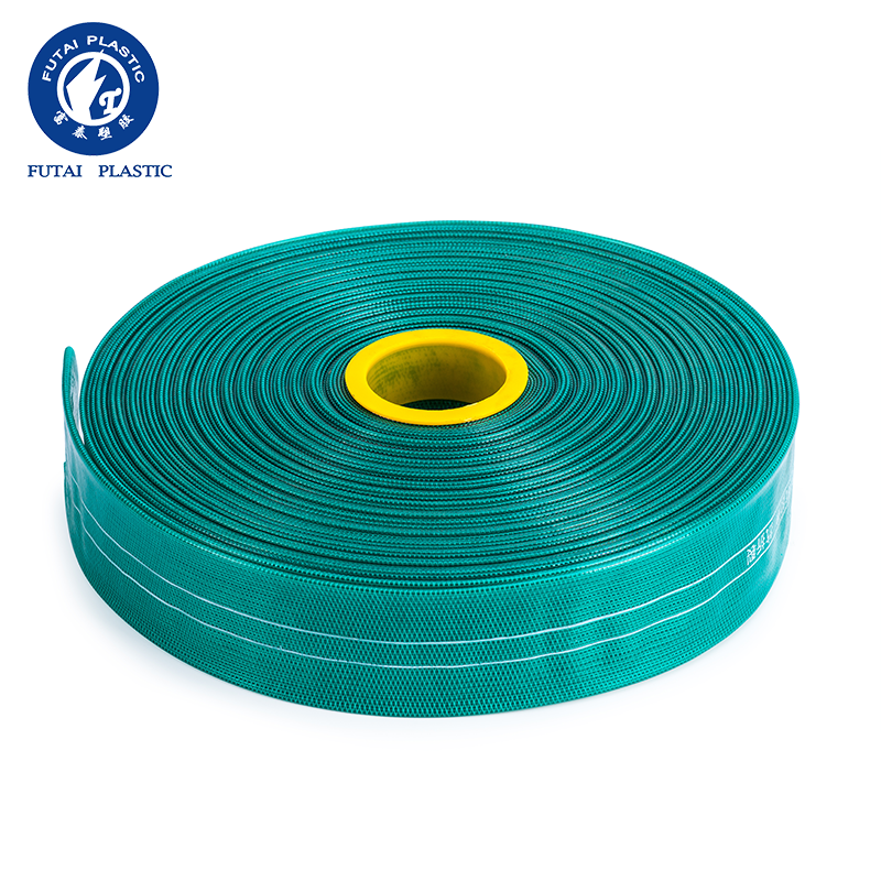 Farm high pressure irrigation PVC plastic flat hose flexible drainage pipe