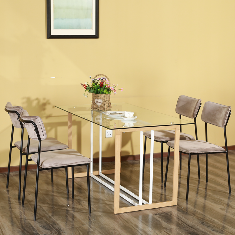 New Style Home Furniture Luxury Dining Room Italian dining room furniture high end table and chair sets for dining room