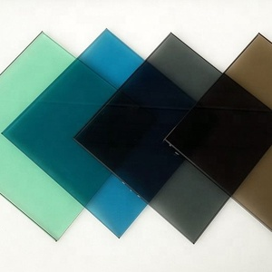 10mm+6Air aluminum+10mm colored tempered low e insulated glass SYS